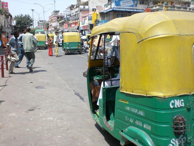 chandni chowk rickshaw