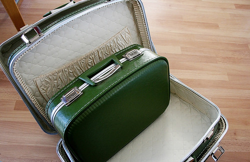 suitcase in another suitcase