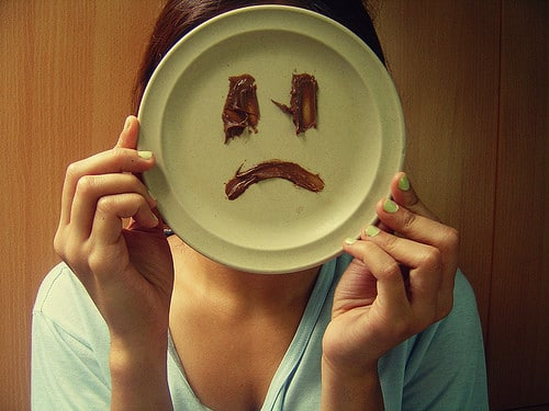 sad face on plate A number of you are planning to travel the world one day,