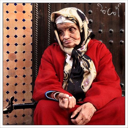 beggar in marrakech