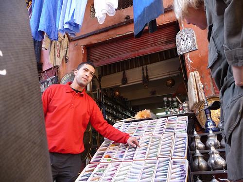 tea shop marrakesh
