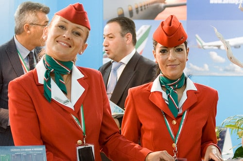 airline hostesses