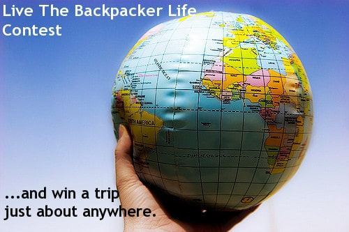 backpacker life contest
