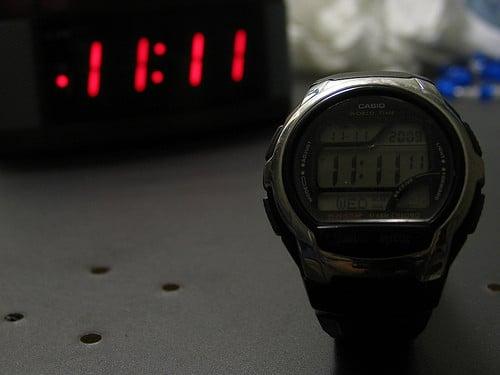 11 on clock