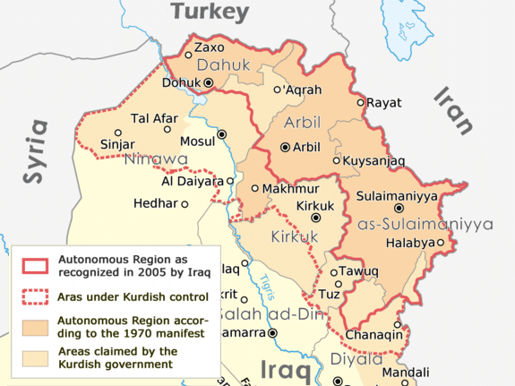 iraqi kurdish regions